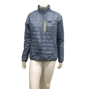 Patagonia Womans Light Blue Puffer Jacket